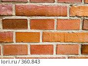 Купить «Кирпичная кладка», фото № 360843, снято 26 июня 2008 г. (c) Светлана Силецкая / Фотобанк Лори