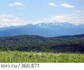 Купить «Северный Кавказ», фото № 360871, снято 11 июля 2008 г. (c) Влад / Фотобанк Лори