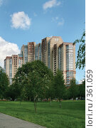 Элитная жилая новостройка на юге Москвы, фото № 361059, снято 14 июля 2007 г. (c) Fro / Фотобанк Лори