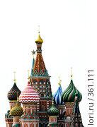 Купить «Собор Василия Блаженного», фото № 361111, снято 17 июля 2008 г. (c) Илья Малов / Фотобанк Лори