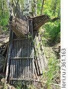 Купить «Ловушки(морды) сушатся на берегу», фото № 361163, снято 17 июня 2008 г. (c) Круглов Олег / Фотобанк Лори