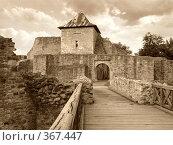 Купить «Сучавская тронная крепость», фото № 367447, снято 24 июня 2008 г. (c) Анна Янкун / Фотобанк Лори
