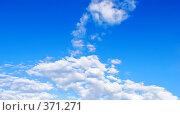 Купить «Небесный пейзаж», фото № 371271, снято 31 мая 2008 г. (c) Анатолий Теребенин / Фотобанк Лори