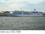Купить «Круизный лайнер», фото № 372159, снято 21 июля 2008 г. (c) Alexander Shibaev / Фотобанк Лори
