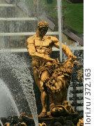 Купить «Петергоф, фонтан», фото № 372163, снято 20 июля 2008 г. (c) Alexander Shibaev / Фотобанк Лори