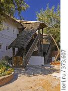 Купить «Вид на Келейный корпус Знаменского мужского монастыря», фото № 373607, снято 3 июля 2020 г. (c) Эдуард Межерицкий / Фотобанк Лори