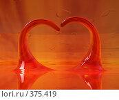 Купить «Пламенное сердце в подарок!», фото № 375419, снято 17 августа 2018 г. (c) Aleksei Simonov / Фотобанк Лори