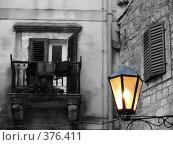 Купить «Ночь, улица, фонарь», фото № 376411, снято 12 сентября 2007 г. (c) Анна Янкун / Фотобанк Лори