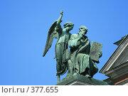 Купить «Элемент оформления Исаакиевского собора», фото № 377655, снято 21 июля 2008 г. (c) Alexander Shibaev / Фотобанк Лори