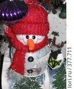 Купить «Снеговичок», фото № 377711, снято 12 января 2007 г. (c) Сычёва Надежда / Фотобанк Лори