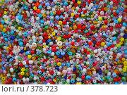 Фон из разноцветного бисера. Стоковое фото, фотограф Aneta Vaitkiene / Фотобанк Лори