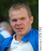 Купить «Александр Анюков (Зенит)», фото № 379791, снято 26 июля 2008 г. (c) Андрей Голубев / Фотобанк Лори