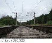Купить «Железная дорога», фото № 380523, снято 31 июля 2008 г. (c) Александр Яшин / Фотобанк Лори