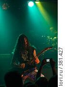 Купить «Рок музыкант Black metal artist», фото № 381427, снято 16 июля 2019 г. (c) Ольга Сапегина / Фотобанк Лори
