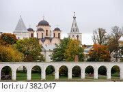 Купить «Великий Новгород», фото № 382047, снято 17 ноября 2018 г. (c) Георгий Солодко / Фотобанк Лори