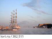 Купить «Корабль», фото № 382511, снято 9 июля 2020 г. (c) Георгий Солодко / Фотобанк Лори