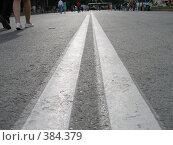 Купить «Двойная полоса», фото № 384379, снято 3 августа 2008 г. (c) Мажугин Алексей / Фотобанк Лори