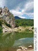 Купить «Красный Камень, Крым», фото № 387243, снято 28 июля 2008 г. (c) Смыгина Татьяна / Фотобанк Лори