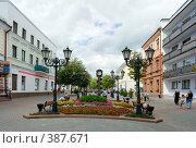 Купить «Улица Советская города Бреста», фото № 387671, снято 5 августа 2008 г. (c) Андрей Рыбачук / Фотобанк Лори