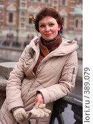 Купить «Девушка на набережной», фото № 389079, снято 22 марта 2008 г. (c) Андрей Шахов / Фотобанк Лори