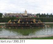 Купить «Фонтан в Версале», фото № 390311, снято 26 июня 2007 г. (c) Алла Кригер / Фотобанк Лори