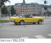 Желтый кабриолет (2007 год). Стоковое фото, фотограф Алла Кригер / Фотобанк Лори