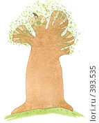 Купить «Весеннее дерево», иллюстрация № 393535 (c) Анастасия Малик / Фотобанк Лори