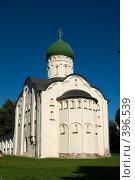 Купить «Церковь Федора Стратилата, г.  Великий Новгород», фото № 396539, снято 6 августа 2008 г. (c) Андрей Некрасов / Фотобанк Лори