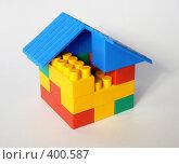 Купить «Игрушечный домик», фото № 400587, снято 1 августа 2008 г. (c) Глеб Тропин / Фотобанк Лори