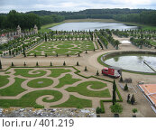 Купить «Версальский парк в рабочем режиме», фото № 401219, снято 26 июня 2007 г. (c) Алла Кригер / Фотобанк Лори