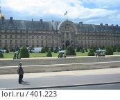 Купить «Знаменитый дом престарелых в Париже», фото № 401223, снято 27 июня 2007 г. (c) Алла Кригер / Фотобанк Лори