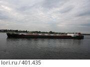 Баржа на Ладожском озере (2008 год). Редакционное фото, фотограф Галина Б / Фотобанк Лори