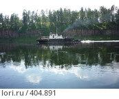 Купить «Буксир», фото № 404891, снято 7 июля 2008 г. (c) Юрий Мурзич / Фотобанк Лори