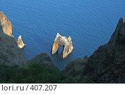Купить «Золотые ворота. Кара-даг. Крым», фото № 407207, снято 9 августа 2007 г. (c) Denis Kh. / Фотобанк Лори