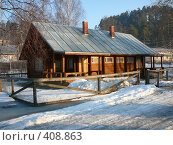 Дом в Лахденпохье. Стоковое фото, фотограф Сергей Карцов / Фотобанк Лори