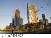 Купить «Здания Мельбурна», фото № 409027, снято 20 ноября 2005 г. (c) Кирилл Савельев / Фотобанк Лори