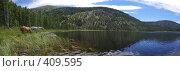 Купить «Озеро Маранкуль», фото № 409595, снято 16 августа 2018 г. (c) Николай Михальченко / Фотобанк Лори