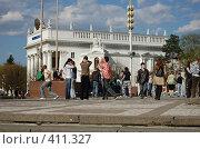 Купить «Танцоры», фото № 411327, снято 26 апреля 2008 г. (c) Анастасия Gorkaia / Фотобанк Лори