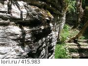 Купить «Дорога в скальном лабиринте», фото № 415983, снято 15 августа 2008 г. (c) Мажугин Алексей / Фотобанк Лори