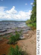 """Купить «Озеро """"Селигер"""" (о. Волго)», фото № 416863, снято 27 июля 2008 г. (c) Александр Секретарев / Фотобанк Лори"""