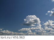 Купить «Фон. небо, облака», фото № 416963, снято 27 июля 2008 г. (c) Александр Секретарев / Фотобанк Лори