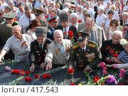 Купить «Ветераны из Чечни возлагают цветы к вечному огню. г.Курск. 23 августа 2008г.», фото № 417543, снято 23 августа 2008 г. (c) Александр Леденев / Фотобанк Лори