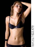 Купить «Девушка», фото № 422479, снято 26 июня 2008 г. (c) Сергей Сухоруков / Фотобанк Лори
