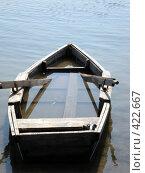 Купить «Старая лодка», фото № 422667, снято 24 августа 2008 г. (c) Татьяна Богатова / Фотобанк Лори