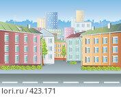 Купить «Старый город. Дома.», иллюстрация № 423171 (c) Куликова Татьяна / Фотобанк Лори