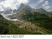 Купить «Горный пейзаж», фото № 423507, снято 12 августа 2008 г. (c) Иван Мельниченко / Фотобанк Лори