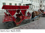 Купить «Красная карета», фото № 423555, снято 1 июня 2007 г. (c) Дмитрий Рогов / Фотобанк Лори