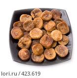 Купить «Инжир в тарелке», фото № 423619, снято 17 августа 2008 г. (c) Коннов Леонид Петрович / Фотобанк Лори