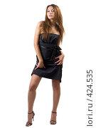Купить «Сексуальная девушка», фото № 424535, снято 10 июля 2008 г. (c) Сергей Сухоруков / Фотобанк Лори