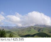 Купить «Горы недалеко от Бишкека», фото № 425595, снято 6 мая 2005 г. (c) Михаил Браво / Фотобанк Лори